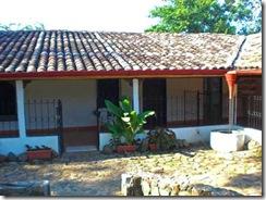 Modelo de patio interior colonial