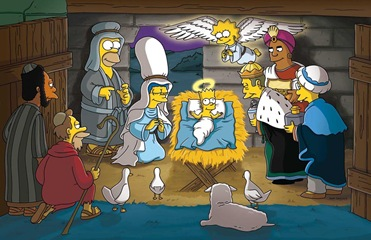 "THE SIMPSONS: Homer and family deliver holiday cheer in THE SIMPSONS episode ""Simpsons Christmas Stories"" airing Sunday, Dec. 18 (8:00-8:30 PM ET/PT) on FOX.  ™©2005THE SIMPSONS and TCFFC ALL RIGHTS RESERVED.  ©2005FOX BROADCASTING CO.  CR:FOX"