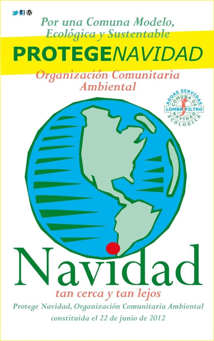 PROTEGE ORG COMUNIT RECICLA adhesivo 1