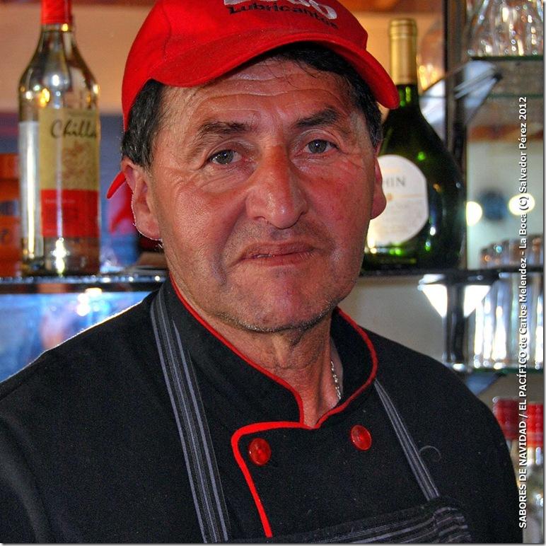 CARLOS MELENDEZ Propietario y Chef
