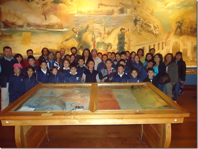 Alumnos Museo Naval