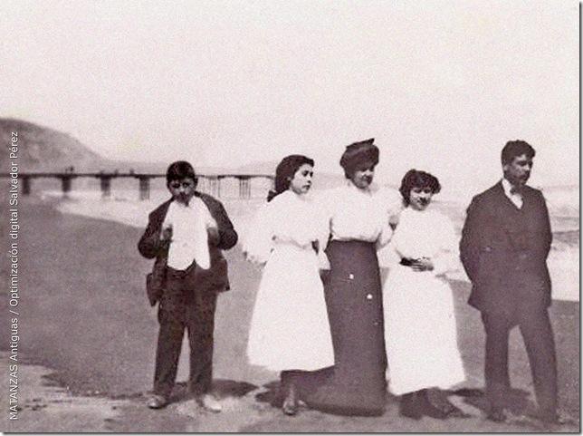 Familia en Matanzas 1940