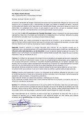 CARTA H. ROMAN CONTESTACIÓN CONCEJO